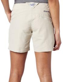 Columbia Women's Coral Point II Short, Small, Fossil