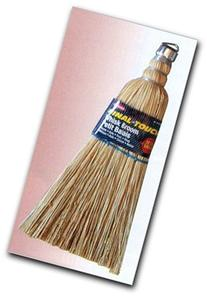 Carrand 93028 Metal Hang Hook - Corn Whisk Broom