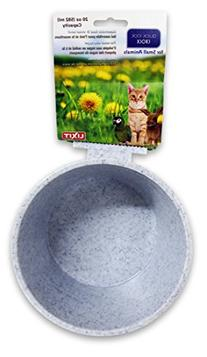 Lixit Corporation BLX0758 Crock for Small Animals, 20-Ounce