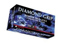 Microflex MF300L Diamond Grip Powder-Free Latex Exam Gloves