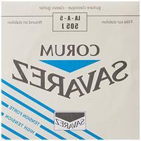 Savarez Corum Silver Plated Wound Bass High Tension .036,