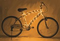 Brightz, Ltd. Gold Cosmic Brightz LED Bicycle Frame Light