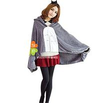 HiRudolph Cosplay My Neighbor Totoro Shoulder Cape Shawl