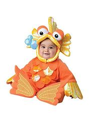 InCharacter Costumes Baby's Giggly Goldfish Costume, Orange