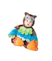 InCharacter Costumes Baby's What A Hoot Owl Costume, Brown/