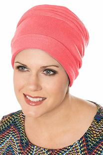 Cotton Accordion Cancer Turban for Women in Chemotherapy
