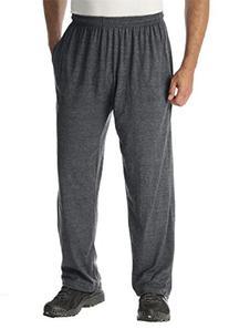 Kingsize Men's Big & Tall Cotton Jersey Open-Bottom Pants,
