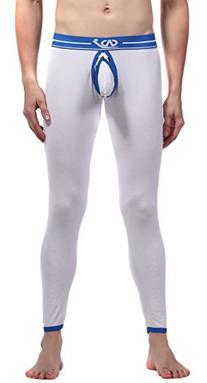 SiikWorld Men's Cotton Long John Sexy Underwear US L Asian