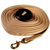 Intrepid International Cotton Lunge Line with Rubber Stop,