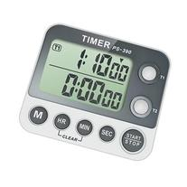 Countdown Digital Kitchen Timer, Dual Settings, with LCD