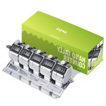 GOGO 5-Unit Counter, Desktop Tally Meter, Multiple-unit