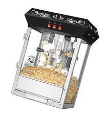 Countertop Movie Night Popcorn Popper Machine-Makes Approx.