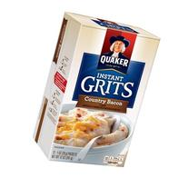 Quaker Country Bacon Instant Grits, 12 oz