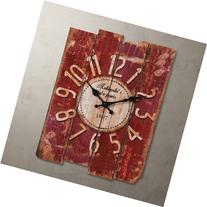 """Porch-O LightInTheBox 15"""" Country Style Vintage Wall Clock"""