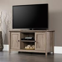 Sauder Furniture County Line Salt Oak Adjustable TV