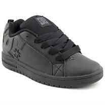 DC Shoes Court Graffik Boys Leather Athletic