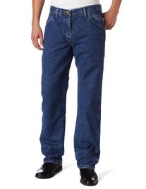 Men's Premium Performance Cowboy Cut Jean,Navy,34x32