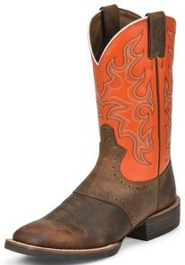 Cowboy Boot Nailed On Heel Removable Orthotic Insert Rubber