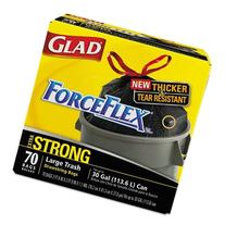 COX70358 - Glad Drawstring ForceFlex Large Trash Bags