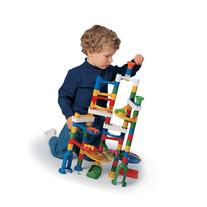 CP Toys Build and Play Marble Run with 68 Plastic Components