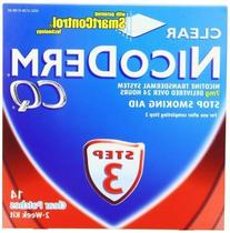 NicoDerm CQ Step 3 Clear Patch, 7 mg, 2-Week Kit