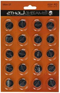 Emazing Lights CR1620 3 volt Button Cell Lithium Batteries