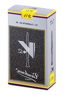 Vandoren CR1935 Bb Clarinet V.12 Reeds Strength 3.5; Box of