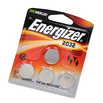 Energizer 2032BP-4 3 Volt Lithium Coin Battery - Retail