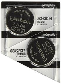 2 pack Energizer CR2430 Lithium Coin Button Cell battery