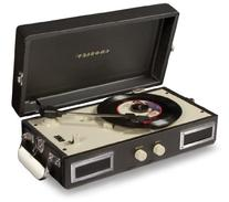 Crosley CR40-BK Mini Turntable with Full-Range Stereo