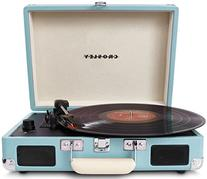 Crosley CR8005A-TU Cruiser Portable 3-Speed Turntable,