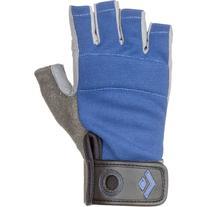 Black Diamond Crag Half-Finger Climbing Gloves, Black, Large