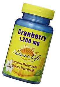 Nature's Life Cranberry Concentrate , 1200 Mg, Vaccinium