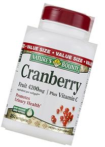 Nature's Bounty Cranberry 4200mg Plus Vitamin C Herbal