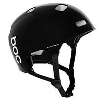 POC Crane Pure  Bike Helmet, Uranium Black/Hydrogen White, X