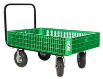 Farm Tuff 30-Inch by 46-Inch Crate Wagon with 4-Inch by 10-
