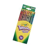 Crayola Twistables Colored Pencils, Assorted Colors 18 ea