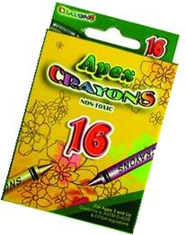 Crayons - 16 Count Boxed - Asst.Colors