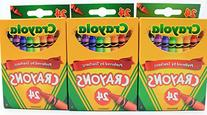 Crayola 24 Count Box of Crayons Non-Toxic Color Coloring