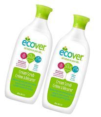 Ecover Cream Scrub - 16 oz - 2 pk