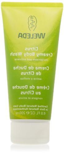 Weleda Creamy Body Wash, Citrus, 6.8 Ounces