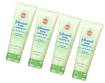 Johnson & Johnson Baby Creamy Oil, Aloe Vera & Vitamin E, 8