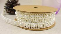 320cm Created Pearl Beads Chain ABS Bead Chain