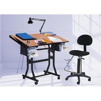 Martin Creation Station Art-Hobby Table and Chair Set, Black