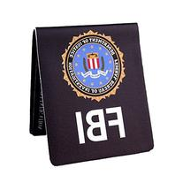 Fashion Creative Hand Making FBI Style Bifold Wallet Purse