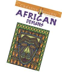 Creative Haven African Designs Coloring Book