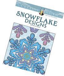 Creative Haven Snowflake Designs Coloring Book