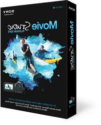 SONY CREATIVE SOFTWARE INC. MOVIE STUDIO PLATINUM 12 SUITE