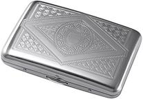 Credit Card Holder - Silver Stainless Steel RFID Blocking