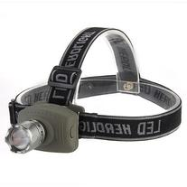 TOMOUNT CREE Q5 LED Headlamp Lamp Flashlight 800LM Zoomable